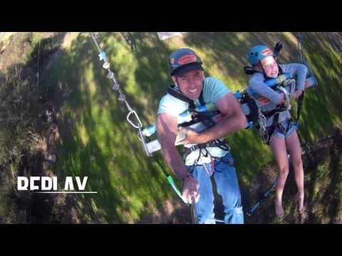 Big Swing near Addo, South Africa with Adrenalin Addo Big Swing and Dirty Boots…