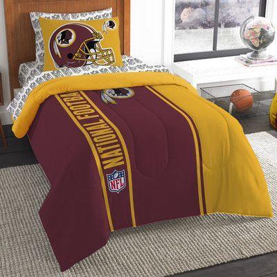 Northwest Co. NFL Redskins Comforter Set Size: Twin