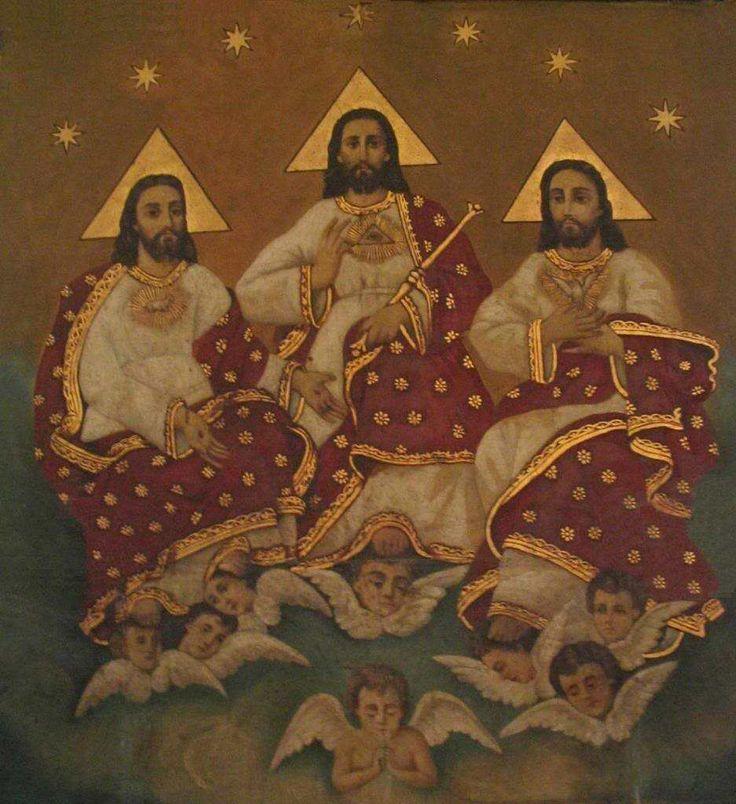 Catholic Holy Trinity Symbol