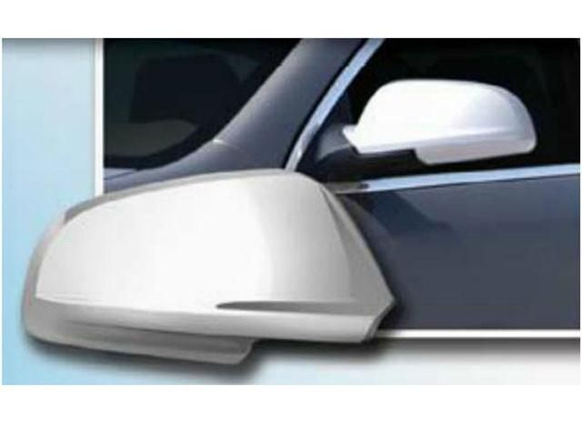 QAA PART MC46135 fits IMPALA 2006-2013 & IMPALA LIMITED 2014-2017 CHEVROLET (2 Pc: ABS Plastic Mirror Cover Set , 4-door) MC46135