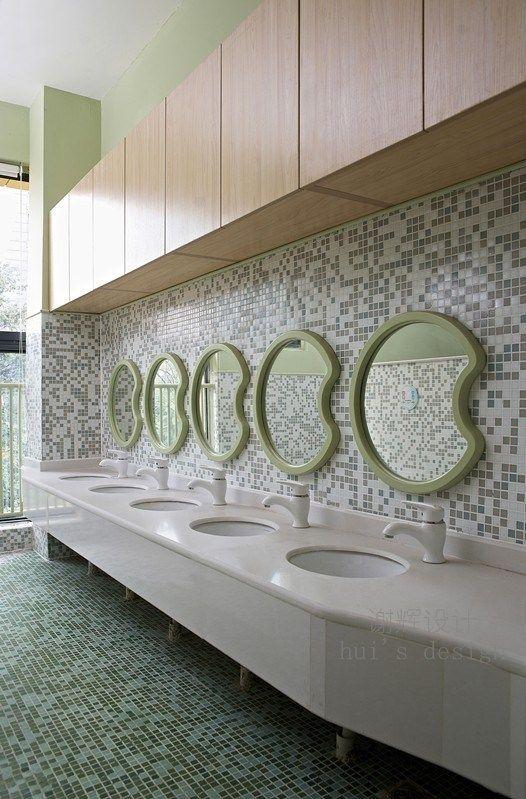 122 best for kids toilet images on pinterest kids toilet for Preschool bathroom ideas