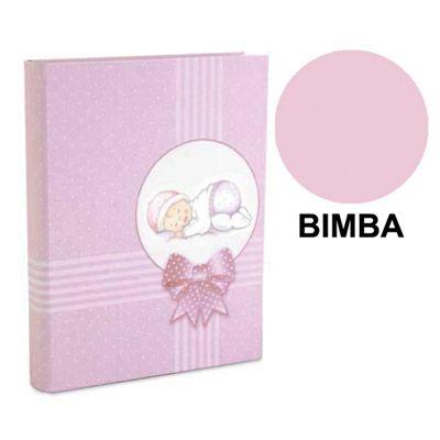 ALBUM 23X27 PLASTIFICATO BIMBO ROSA 1046R-F1
