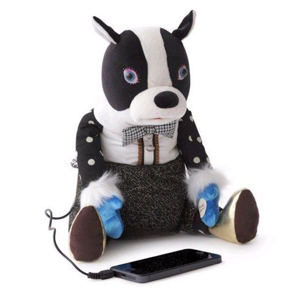KUCHI-PAKU IRIIRI Dancing French Bulldog Speaker   gifts   shop   neo-utility