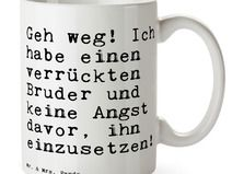 Tasse - Bruder, Brudi, Bro, Familie, Geschenk B...