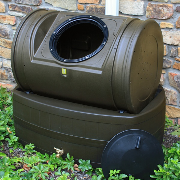 this unique easy to use composter combines the best of both composting and