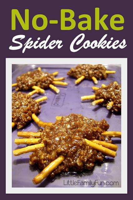 Easy Spider cookies. Fun Halloween treat for kids.