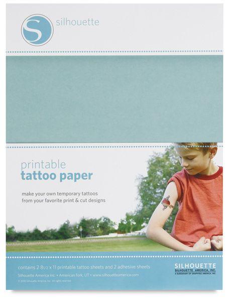 Printable Tattoo Paper