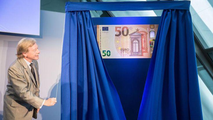 Fälschungsichere Banknote ab 2017: EZB präsentiert den neuen 50-Euro-Schein