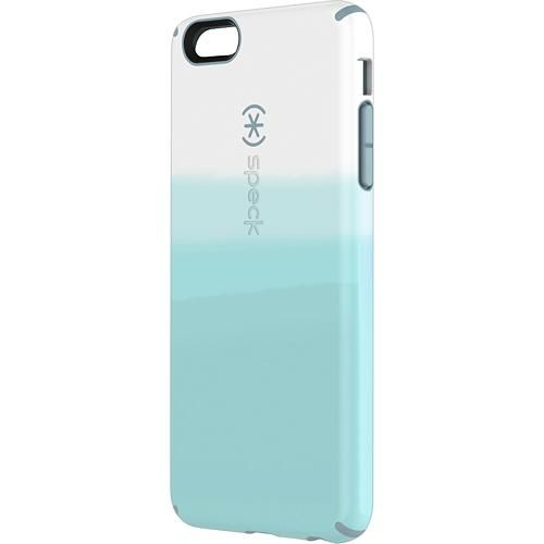 Speck - CandyShell Inked Case for Apple® iPhone® 6 Plus - Colordip Blue - Larger Front