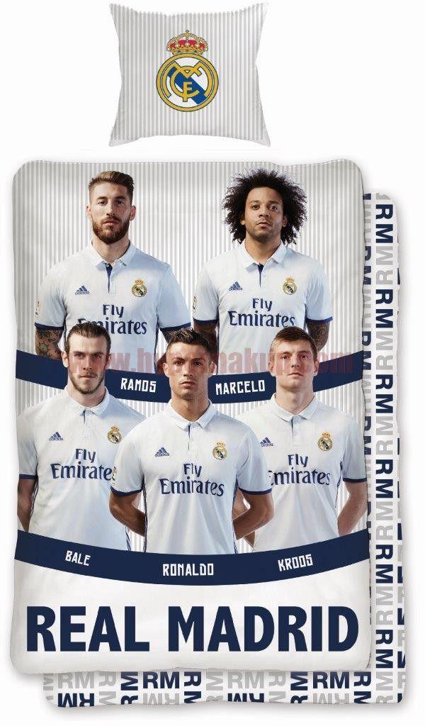 Detské bavlnené obliečky FC Real Madrid 088