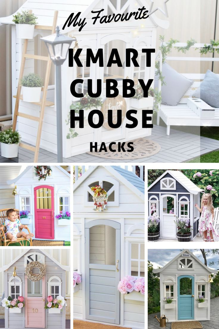 Kmart Cubby House Hacks - Oh So Busy Mum