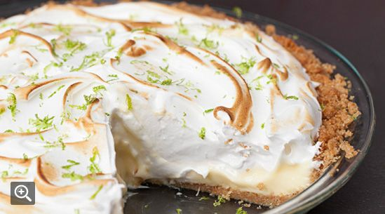 Key Lime Pie with Lime Meringue from Fishing with Dynamite in Manhattan Beach, CA