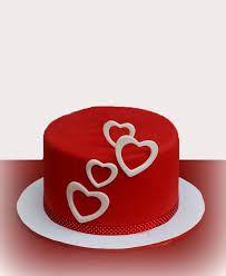pasteles de san valentin de fondant - Buscar con Google