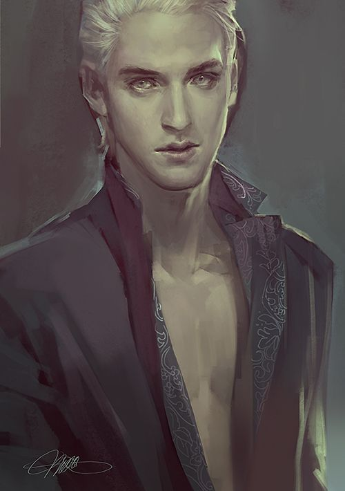 Draco Malfoy. This is so absolutely wonderful that is going directly on my fridge, I swear.