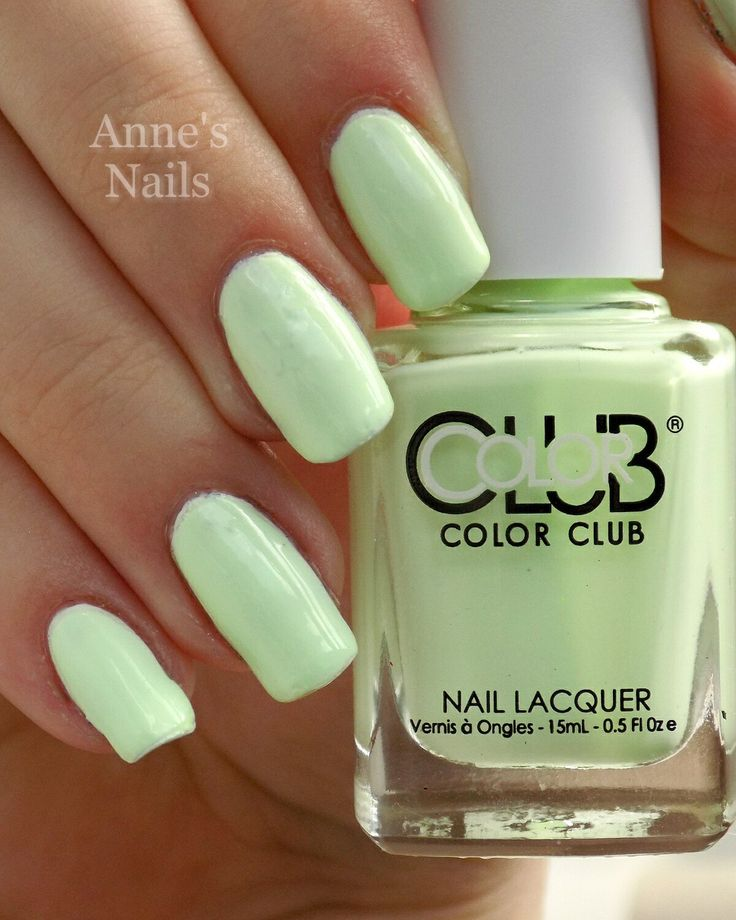 Color Club 'Til' The Record Stops' from the 2015 Poptastic Pastel Neon collection.