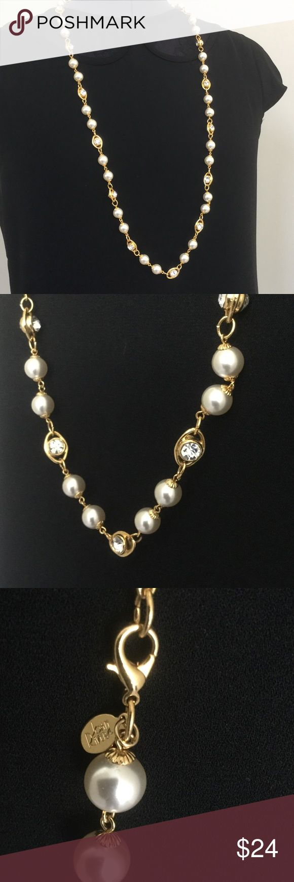 "🆕 Beautiful necklace by Joan Rivers This beautiful necklace by Joan Rivers is stunning! Approximate length is 18"". A perfect edition for any wardrobe! Joan Rivers Jewelry Necklaces"