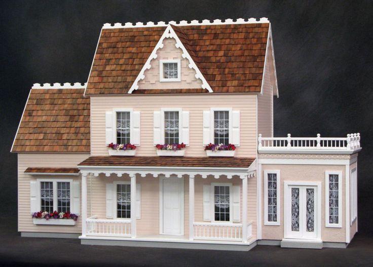 Vermont Farmhouse Jr. Dollhouse Kit