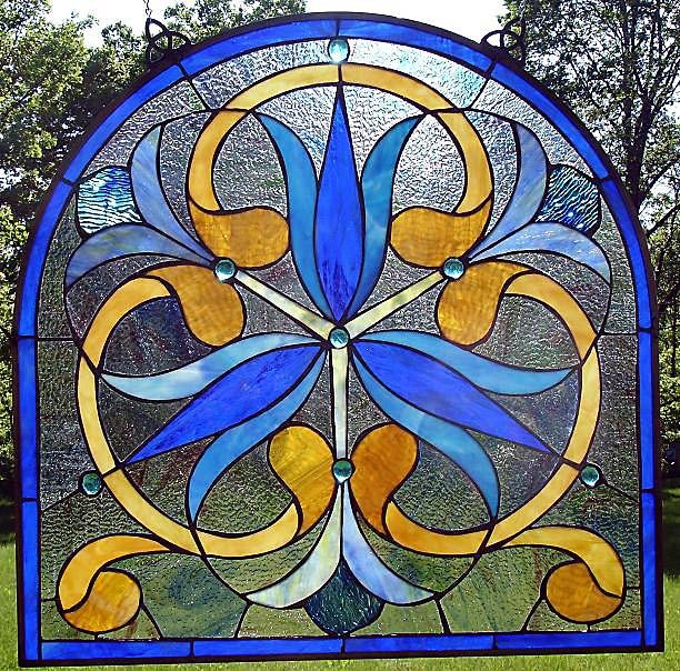 Art Nouveau Stained Glass Windows | ART NOUVEAU STAINED GLASS