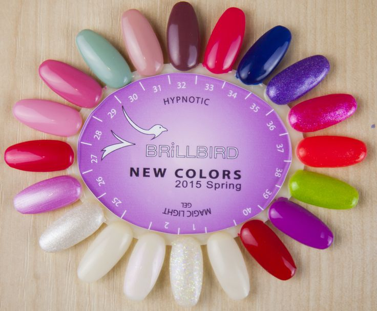 New Hypnotic Gel&Lac Colors