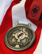 Medalla River Campeón Copa Libertadores 2015