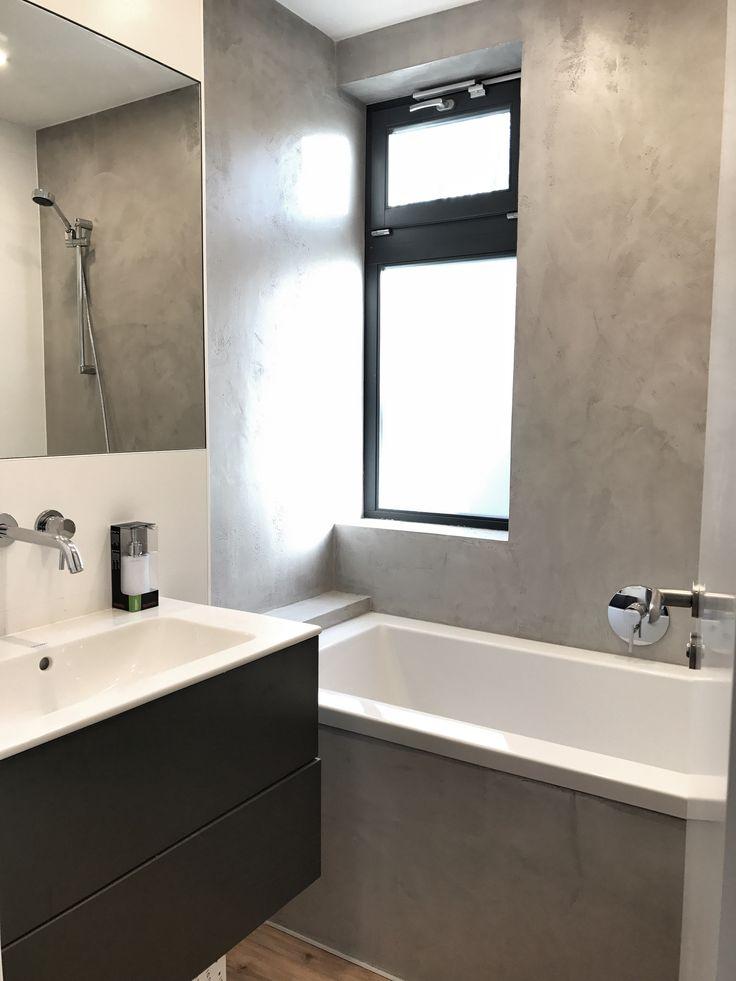 Zementine - concrete bathroom