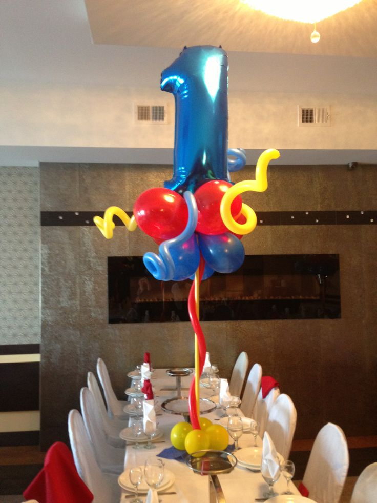 Best balloon table centerpieces images on pinterest