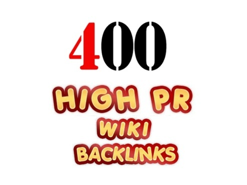 marketerseo: create over 400+ WIKI backlinks from unique high pr sites including edu and gov + ping for fast index for $5, on fiverr.com