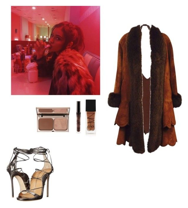 """""""fromtimex"""" by whosay ❤ liked on Polyvore featuring Givenchy, Christia, Dsquared2, NARS Cosmetics and Charlotte Tilbury"""