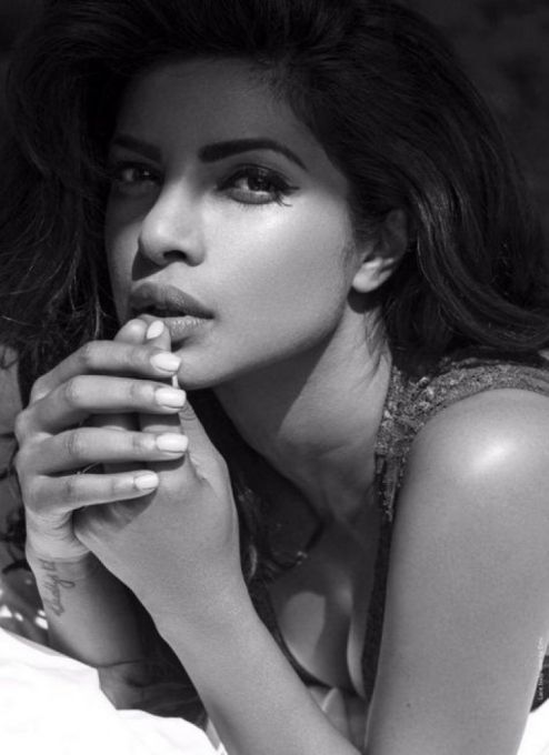 Priyanka Chopra #photoshoot for Sharp Magazine, November 2015 issue.