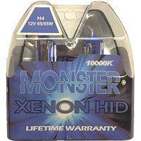 Cheap EuroDezigns H4 Monster Blue Headlights - Dual High/Low 10000K…