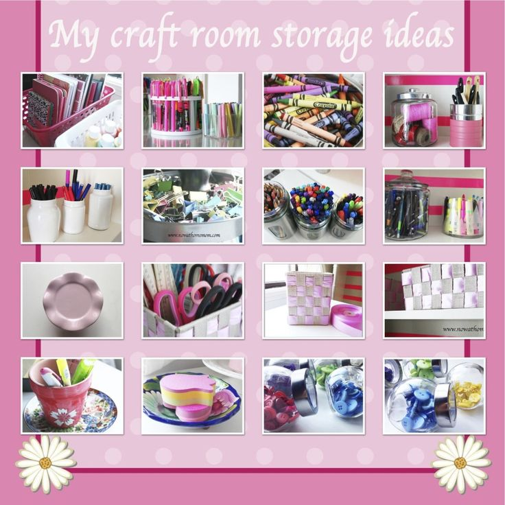 1389 best Craft Room & Supply Organization images on Pinterest ...