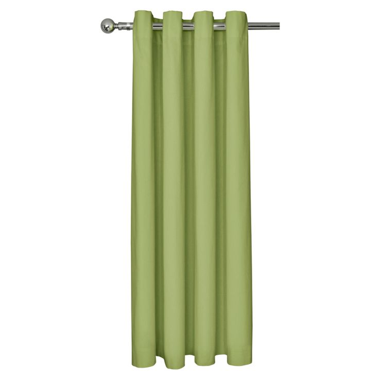 George Home plain Green Eyelet Curtains - Various Sizes  £35.00