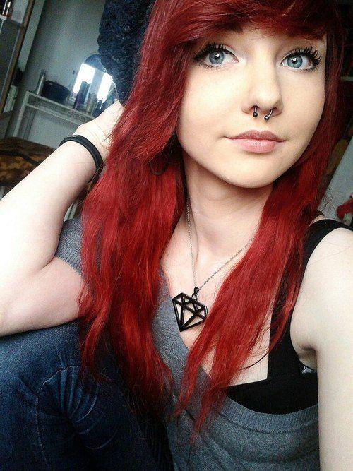 эмо рыжая девка фото - 13