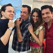 Hoje no Hoje em Dia com Zucatelli, Chris Flores e Edu Guedes, amei