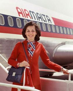 Air Malta Promotional Campaign, 1970's The airline of the Maltese Islands, founded in 1973. Air Malta started operations, with 2 leased Boeing 720Bs that served Rome, Tripoli, London, Manchester, Frankfurt and Paris from Malta. It later bought 3 more Boeing 720Bs and bought the original two.  In 1981, 3 Boeing 737–200 were wet leased, which were so successful that in 1983, 3 new fully owned Boeing 737-200 were delivered. In 1986, Air Malta bought 3 new Boeing 737-200, and in 1987 ordered its…