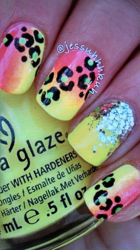 82 best Animal print (nails) images on Pinterest | Cute nails ...