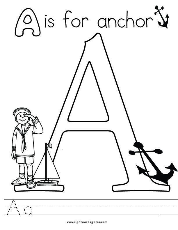 letter ii coloring pages - photo#24
