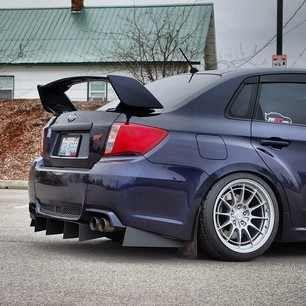 2011 Custom Sedan Rear Diffusers - Subaru Impreza WRX STI Forums: IWSTI.com