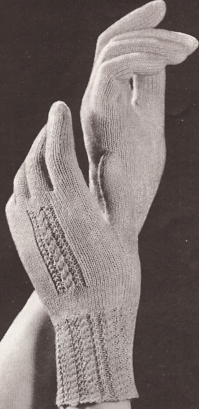 349 best images on pinterest knit vintage fancy design gloves knitting pattern bankloansurffo Choice Image