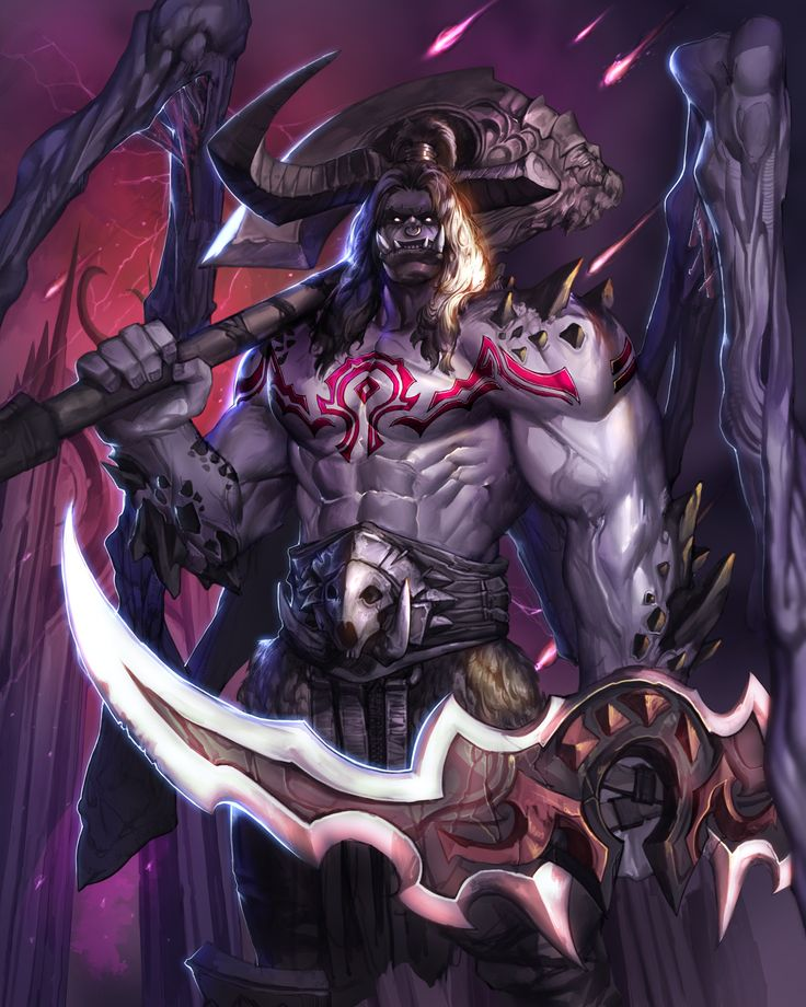 ArtStation - Grommash Demon Hunter, hinew KIM