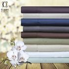 100% Bamboo 4 Piece Deep Pocket Bed Sheet Set2  Deep Pocket - Fits mattresses up to 13 deep, Material - 100% Bamboo, Pattern - Solid, Room - Bedroom, Style - Contemporary, Threadcount - 201-500, Type - Sheet Sets