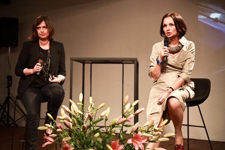 AF Open University Elżbieta Szawarska i Grażyna Olbrych #fashion #szawarska #olbrych #art #festival #starybrowar #poznan