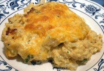 """Cauli"" roni & Cheese    ...okay so I made this and it is A-MAZING. Like ridiculously good. seriously. -Kirsten"