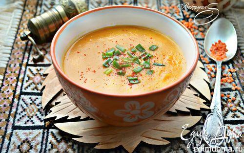 Постный суп из красной чечевицы   Кулинарные рецепты от «Едим дома!»