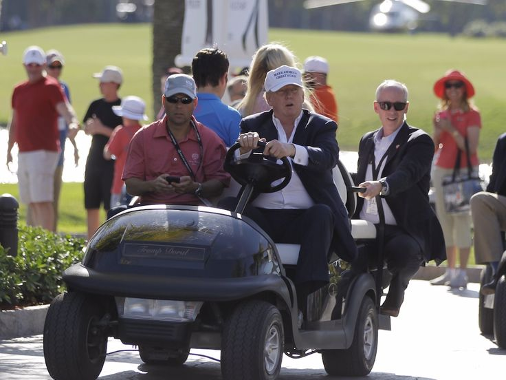 It is looking more and more like Trump will make a surprise visit to the US Women's Open being held at his course - The days leading up to a major golf tournament are usually dominated by winner predictions and dark horse picks, but there's a different question in the air at this year's U.S. Women's Open: will he or won't he?  The tournament, set to begin on Thursday, is being held at Trump National Golf Club in Bedminster, New Jersey for the first time in its history. Because of President…