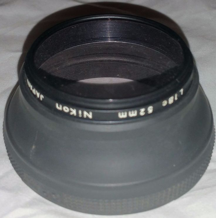 Nikon 52mm L1Bc Skylight Filter UV Filter Made in Japan With Hood #Nikon