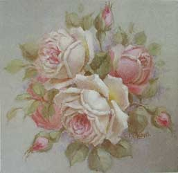 Christie Repasy Pink Rose Canvas Box Print