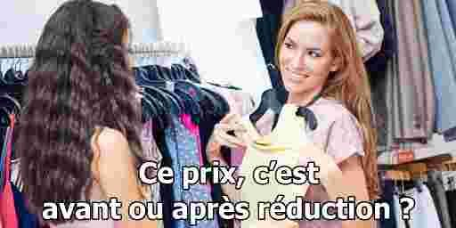 What retail workers hear during les soldes