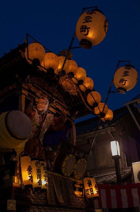川越祭り前夜 : BobのCamera