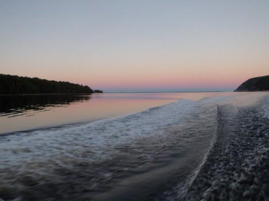 Beautiful Cape Breton sunset